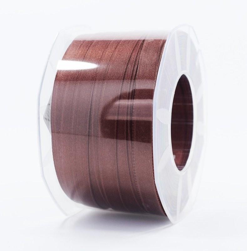Furlanis nastro di raso marrone medio colore 1239 mm.10 Mt.100