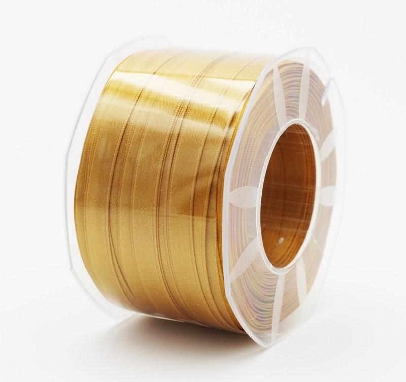 Furlanis nastro di raso giallo ocra colore 1085 mm.10 Mt.100