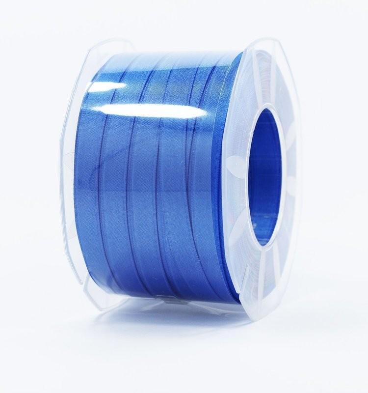Furlanis nastro di raso bluette colore 654 mm.10 Mt.100