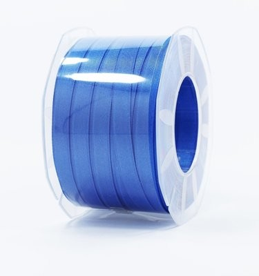 Furlanis nastro di raso bluette colore 654 mm.10 Mt.100