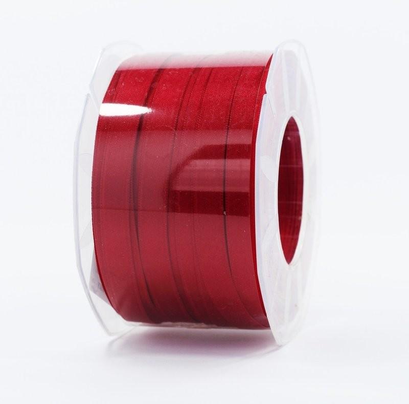 Furlanis nastro di raso rosso scuro colore 46 mm.10 Mt.100