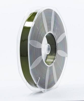 Furlanis nastro di raso verde oliva colore 39 mm.16 Mt.50