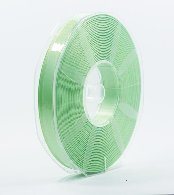 Furlanis nastro di raso verde menta colore 549 mm.16 Mt.50