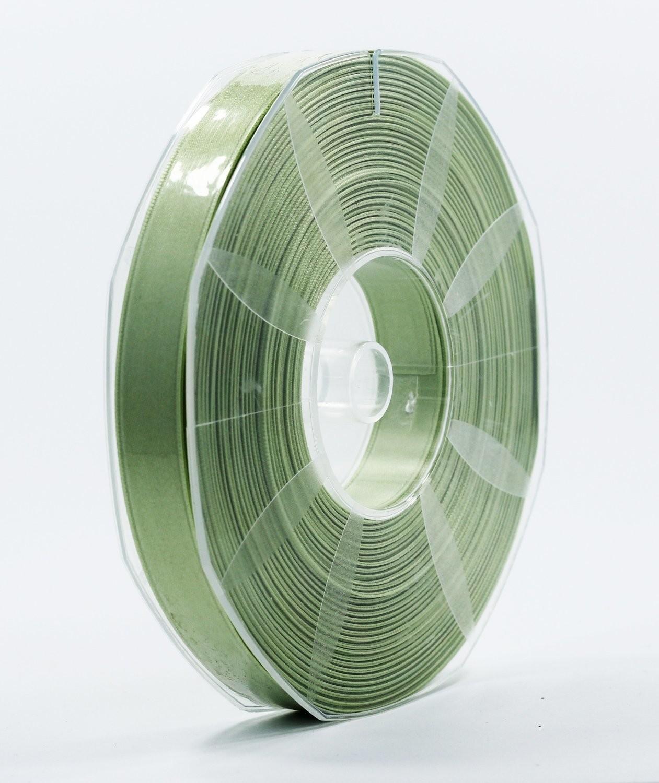 Furlanis nastro di raso verde medio colore 7 mm.16 Mt.50