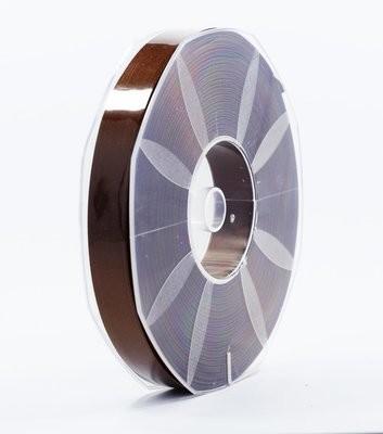 Furlanis nastro di raso marrone colore 44 mm.16 Mt.50