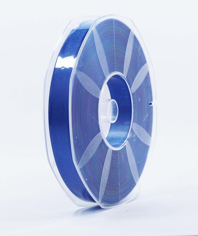 Furlanis nastro di raso bluette colore 654 mm.16 Mt.50