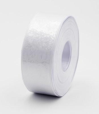 Furlanis nastro di raso bianco colore 13 mm.40 Mt.25