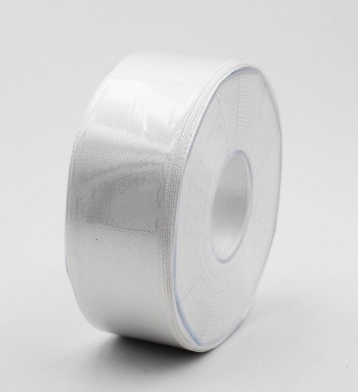 Furlanis nastro di raso bianco colore seta 1 mm.40 Mt.25