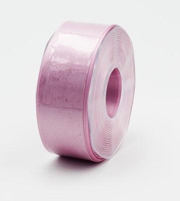 Furlanis nastro di raso rosa scuro colore 70 mm.40 Mt.25