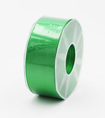 Furlanis nastro di raso verde scuro colore 32 mm.40 Mt.25