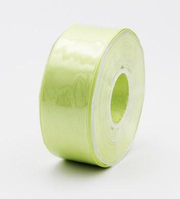 Furlanis nastro di raso verde chiaro colore 119 mm.40 Mt.25