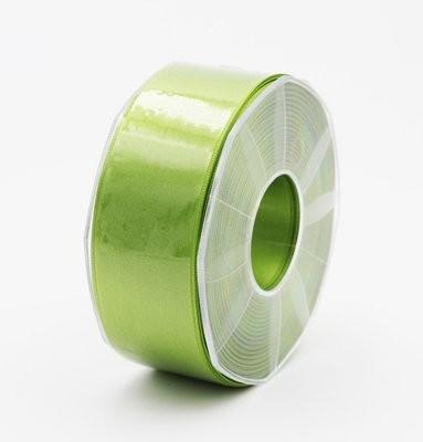 Furlanis nastro di raso verde mela colore 139 mm.40 Mt.25