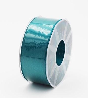 Furlanis nastro di raso petrolio colore 65 mm.40 Mt.25