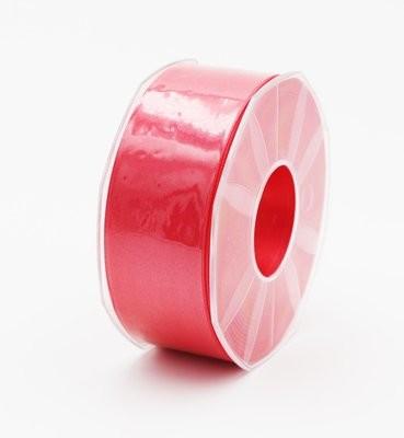 Furlanis nastro di raso rosa corallo chiaro colore 21 mm.40 Mt.25