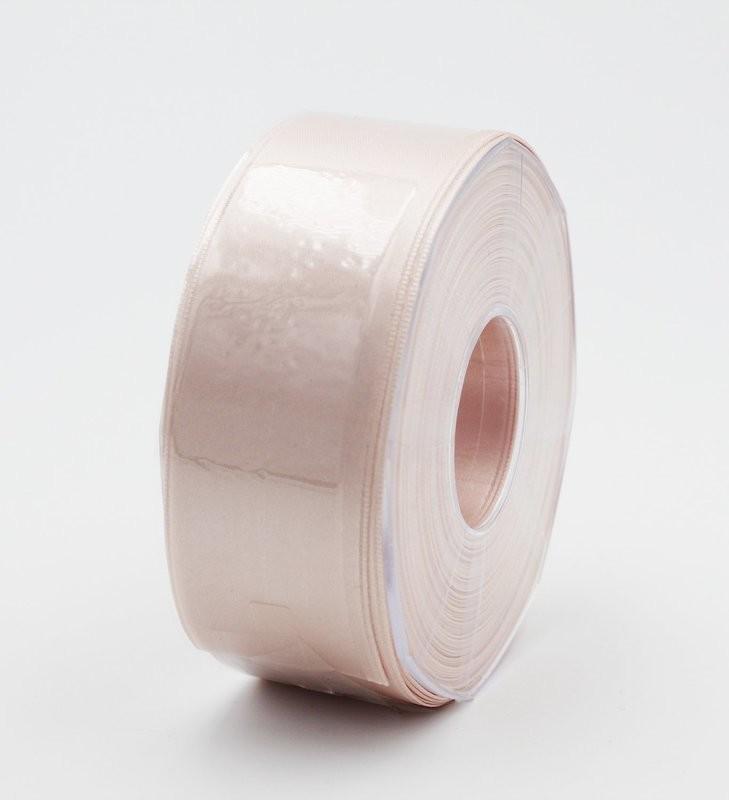 Furlanis nastro di raso cipria chiaro colore 52 mm.40 Mt.25
