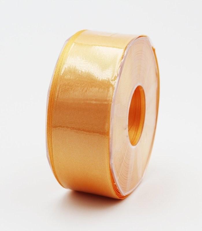 Furlanis nastro di raso arancio chiaro colore 113 mm.40 Mt.25