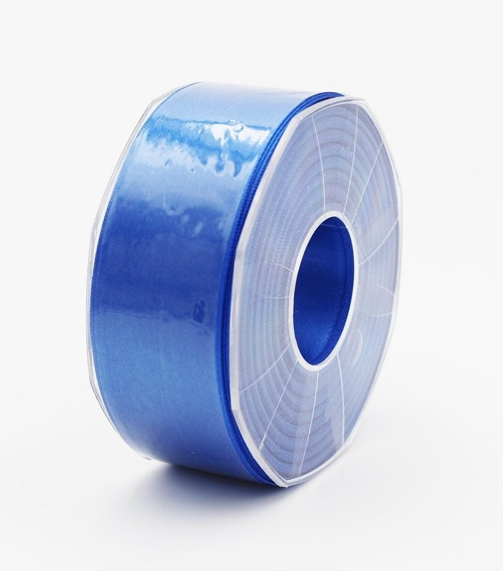 Furlanis nastro di raso bluette colore 654 mm.40 Mt.25