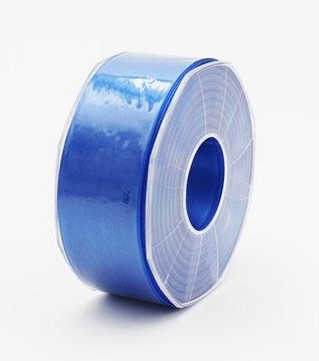 Furlanis nastro di raso bluette colore 654 mm.40 Mt.25
