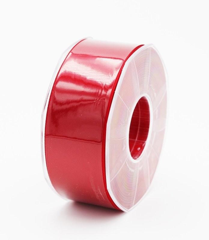 Furlanis nastro di raso rosso scuro colore 46 mm.40 Mt.25