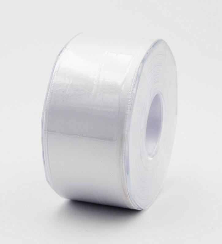 Furlanis nastro di raso bianco colore 13 mm.48 Mt.25