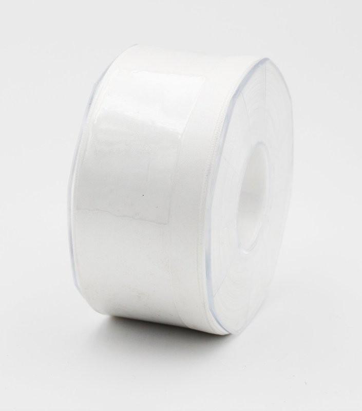 Furlanis nastro di raso bianco colore seta 1 mm.48 Mt.25