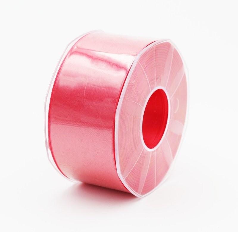 Furlanis nastro di raso rosa corallo chiaro colore 21 mm. 48 Mt. 25
