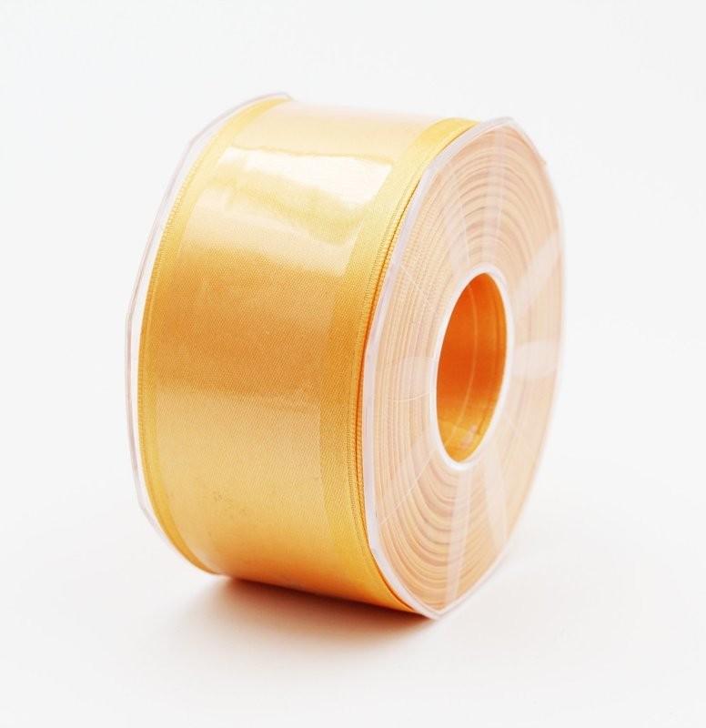 Furlanis nastro di raso arancio chiaro colore 113 mm. 48 Mt. 25