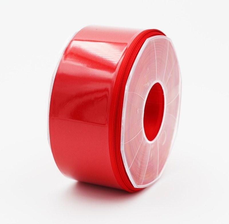 Furlanis nastro di raso rosso colore 31 mm. 48 Mt. 25
