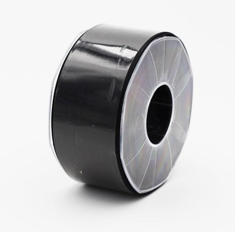 Furlanis nastro di raso nero colore 33 mm. 48 Mt. 25