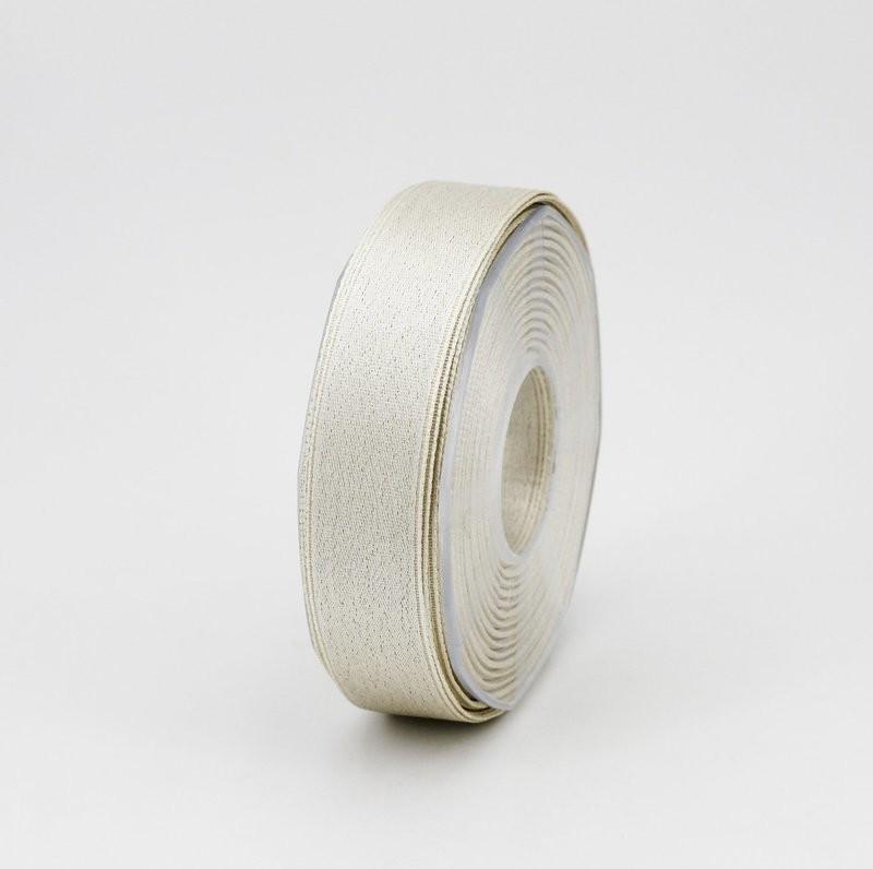 Furlanis nastro doppio raso lurex oro colore 102 mm.25 Mt. 25