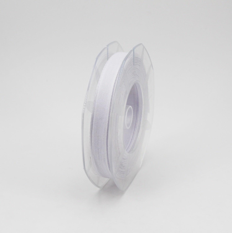 Furlanis nastro garza tipo cotone bianco colore 13 mm.10 Mt. 25
