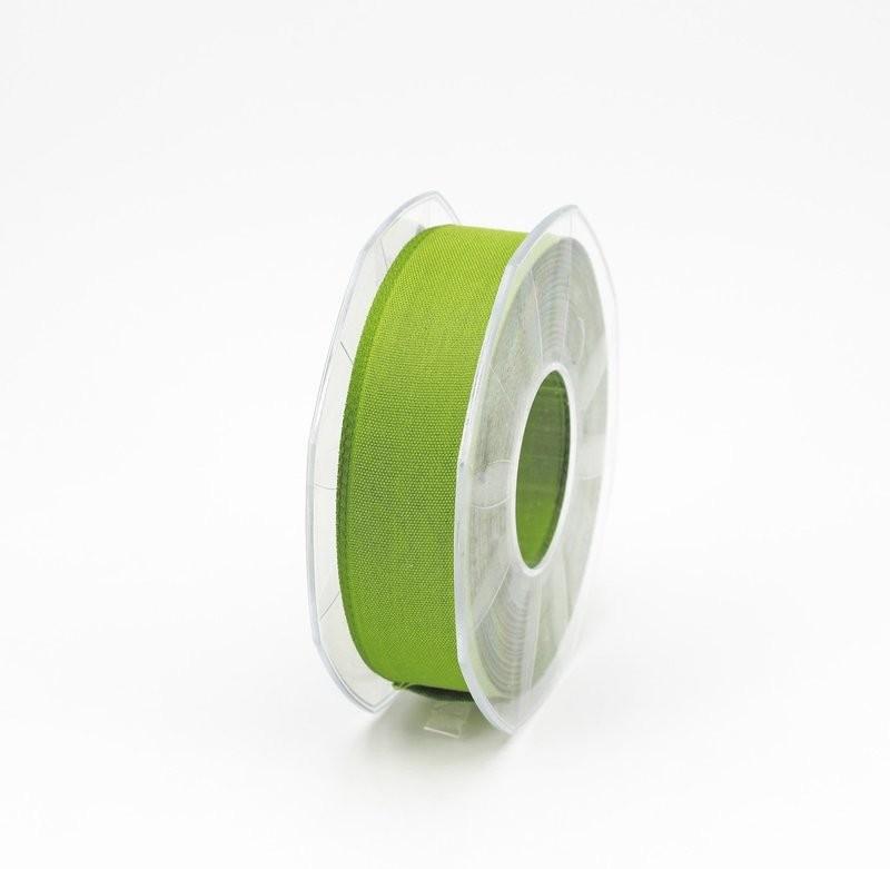 Furlanis nastro garza tipo cotone verde colore 139 mm.25 Mt. 25