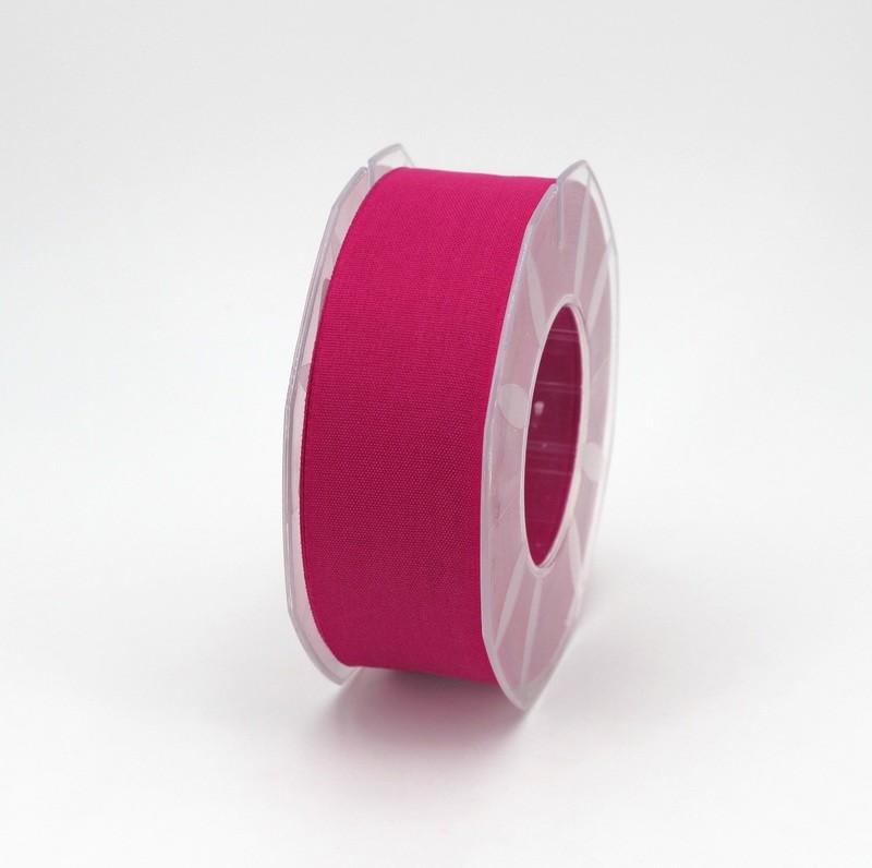 Furlanis nastro garza tipo cotone fuxia colore 26 mm.40 Mt. 25
