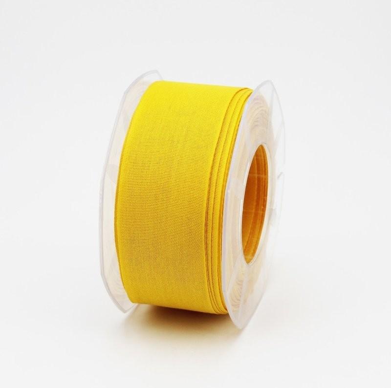 Furlanis nastro garza tipo cotone giallo colore 430 mm.40 Mt. 25