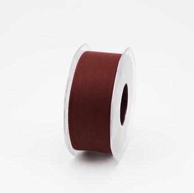 Furlanis nastro garza tipo cotone marrone colore 1239 mm.40 Mt. 25