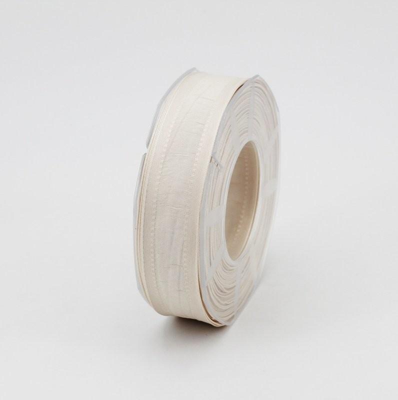 Furlanis nastro seta bordi rinforzati avorio colore 35 mm.25 Mt. 20
