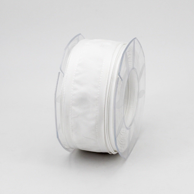 Furlanis nastro seta bordi rinforzati bianco colore 13 mm.40 Mt. 20