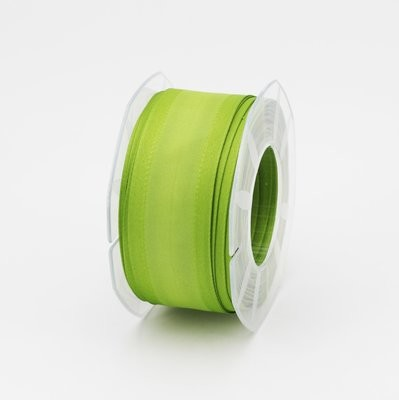 Furlanis nastro seta bordi rinforzati verde colore 139 mm.40 Mt. 20