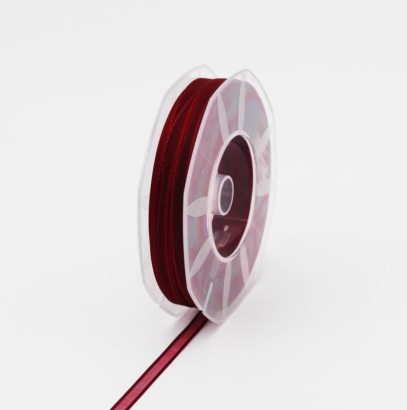 Furlanis nastro organza prugna colore 38 mm.6 Mt. 50