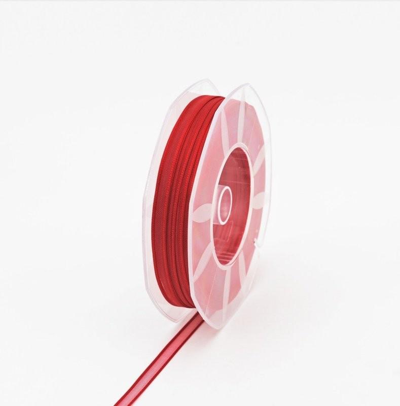 Furlanis nastro organza rosso colore 31 mm.6 Mt. 50