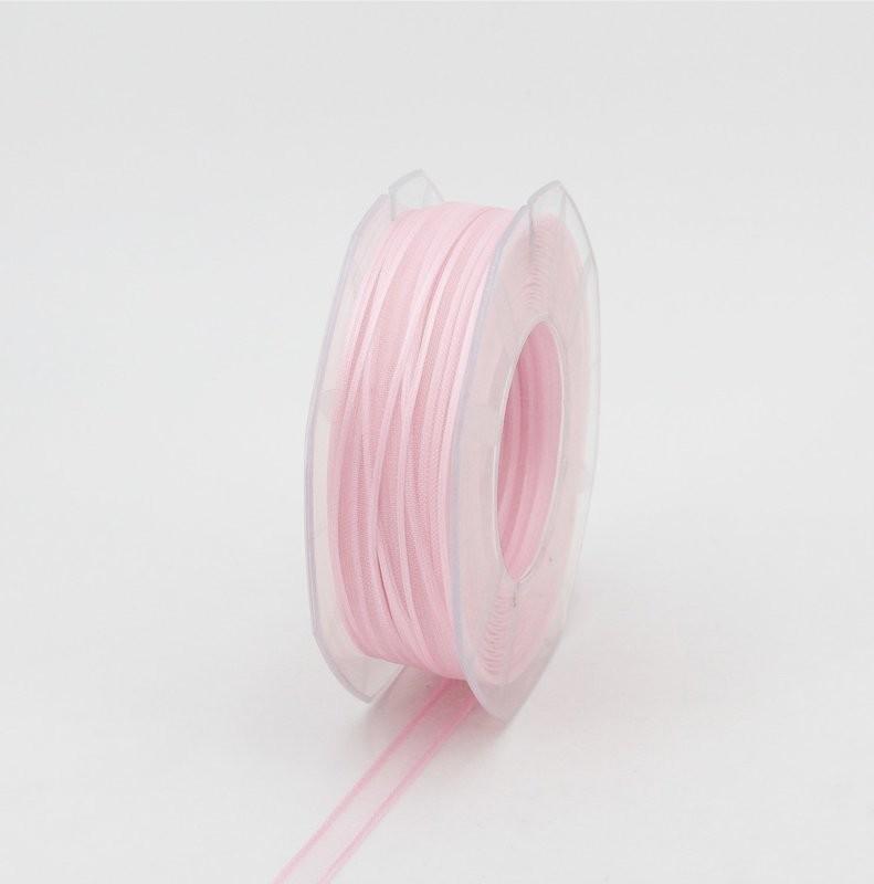 Furlanis nastro organza rosa colore 20 mm.10 Mt. 50