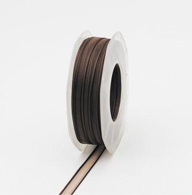 Furlanis nastro organza marrone colore 44 mm.10 Mt. 50