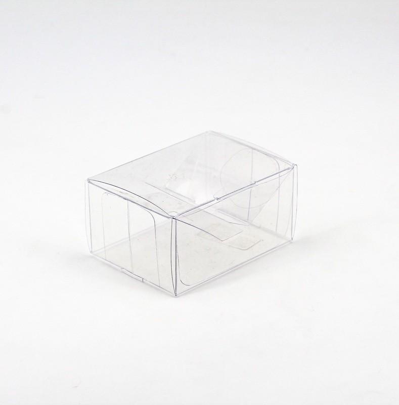 Scatolo trasparente rettangolare Pz. 10