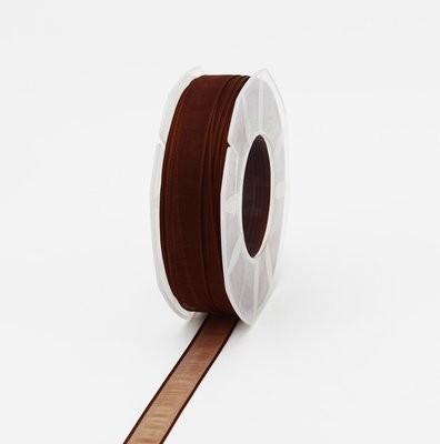 Furlanis nastro organza marrone colore 44 mm.15 Mt. 50