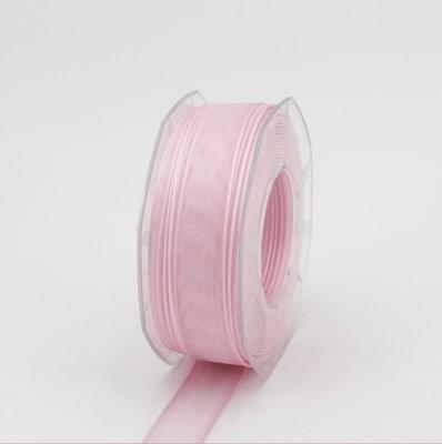 Furlanis nastro organza rosa colore 20 mm.25 Mt.50