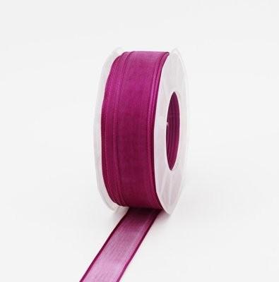 Furlanis nastro organza viola colore 61 mm.25 Mt.50