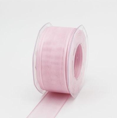 Furlanis nastro organza rosa colore 20 mm. 40 Mt.50