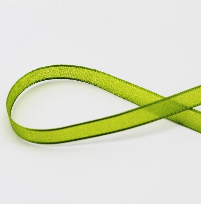 Furlanis nastro velo luminoso verde colore 139 mm.10 Mt. 20