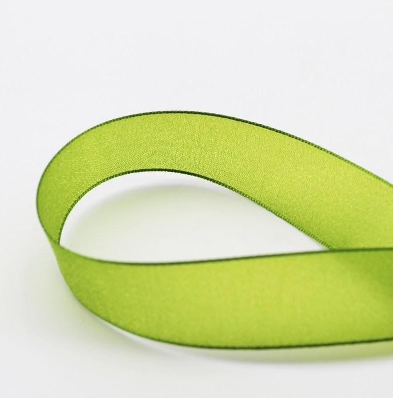 Furlanis nastro velo luminoso verde colore 139 mm. 25 Mt. 20