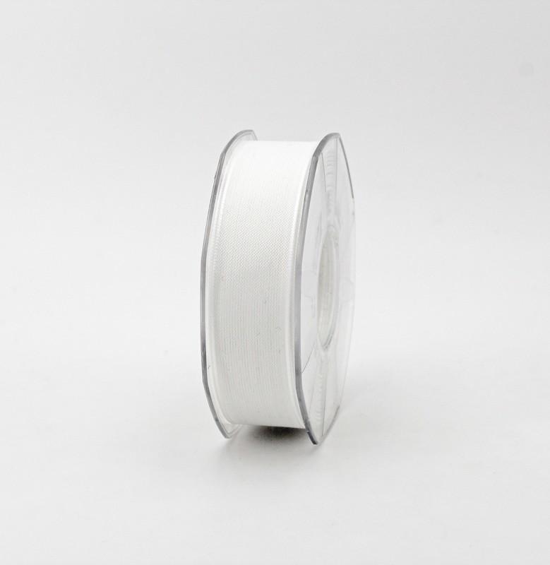 Furlanis nastro velo cotone resinato bianco colore 1 mm. 25 Mt. 25